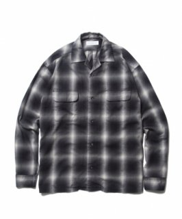 ROTTWEILER Check Open Collar LS Shirt