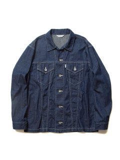 COOTIE Trucker Denim Jacket (1 Wash)(インディゴ)