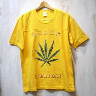 WACKO MARIA FOOTBALL T-SHIRT (TYPE-2 )(イエロー)