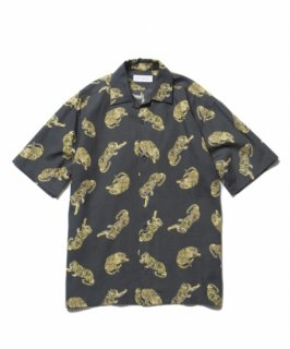 ROTTWEILER Tiger Open Collar SS Shirt