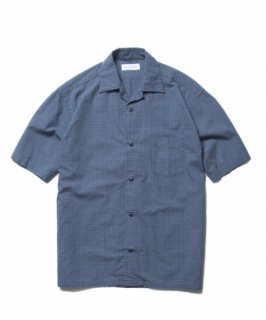 ROTTWEILER Check Open Collar SS Shirt