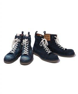 glamb Slinky denim boots