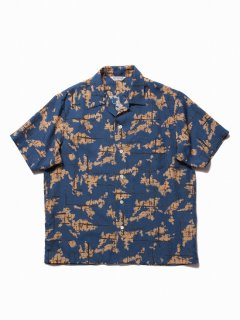 COOTIE Atomic Camouflage S/S Shirt(ネイビー)