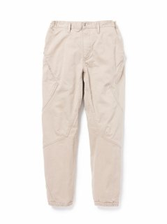 nonnative CYCLIST EASY RIB PANTS TAPERED FIT C/P TWILL STRETCH