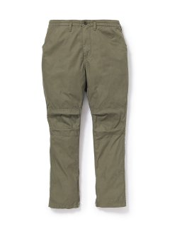 nonnative HIKER TROUSERS DROPPED FIT C/N OXFORD