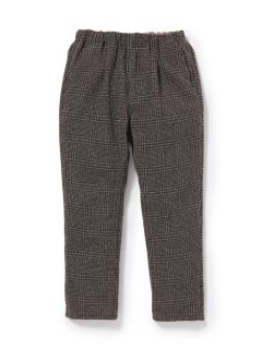 nonnative MANAGER EASY PANTS RELAX FIT WOOL GLEN PLAID