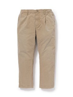 nonnative FELLER TROUSERS RELAX FIT COTTON CHINO
