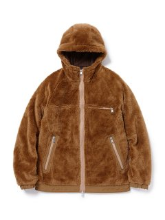 nonnative EXPLORER HOODED JACKET ACRYL HIGH PILE