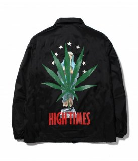WACKO MARIA HIGHTIMES × WACKO MARIA COACH JACKET ( TYPE-5 )(ブラック)