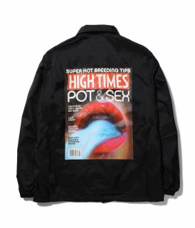 WACKO MARIA HIGHTIMES × WACKO MARIA COACH JACKET ( TYPE-1 )(ブラック)