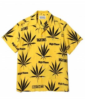 WACKO MARIA HIGHTIMES × WACKO MARIA HAWAIIAN SHIRT ( TYPE-3 )(イエロー)