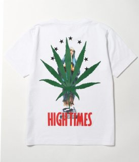 WACKO MARIA HIGHTIMES × WACKO MARIA WASHED HEAVY WEIGHT CREW NECK T-SHIRT ( TYPE-11 )(ホワイト)