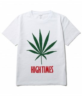 WACKO MARIA HIGHTIMES × WACKO MARIA WASHED HEAVY WEIGHT CREW NECK T-SHIRT ( TYPE-8 )(ホワイト)