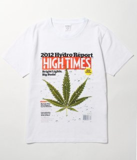 WACKO MARIA HIGHTIMES × WACKO MARIA WASHED HEAVY WEIGHT CREW NECK T-SHIRT ( TYPE-4 )(ホワイト)