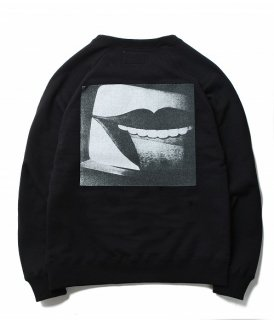 WACKO MARIA 森山大道 × WACKO MARIA WASHED HEAVY WEIGHT CREW NECK SWEAT SHIRT ( TYPE-3 )