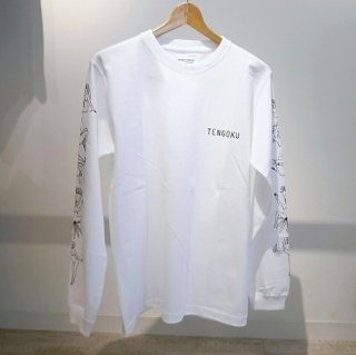 WACKO MARIA CREW NECK LONG SLEEVE T-SHIRT ( TYPE-3 )(ホワイト)