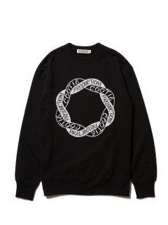 COOTIE Print Crewneck L/S Sweatshirt-2(ブラック)