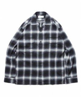 ROTTWEILER Check Open Collar LS Shirt