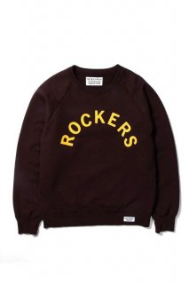 WACKO MARIA WASHED HEAVY WEIGHT CREW NECK SWEAT SHIRT ( TYPE-2 )(D.レッド)
