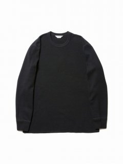 COOTIE Honeycomb Thermal L/S Tee(ブラック)
