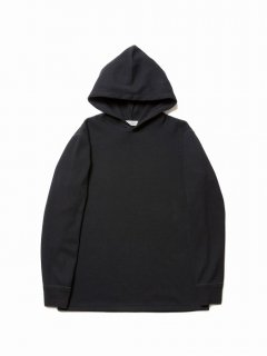 COOTIE Honeycomb Thermal Hooded L/S Tee(ブラック)
