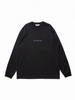 COOTIE Print L/S Tee-2(ブラック)