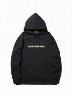 COOTIE Print Pullover Parka (COOTIE LOGO)(ブラック)