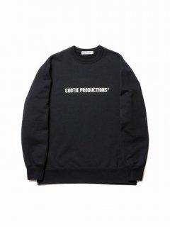 COOTIE Print Crewneck Sweatshirt (COOTIE LOGO)(ブラック)