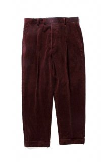 WACKO MARIA PLEATED TROUSERS ( TYPE-2 )(D.レッド)