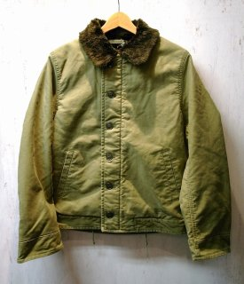 WACKO MARIA N-1 DECK JACKET ( TYPE-5 )(カーキ)