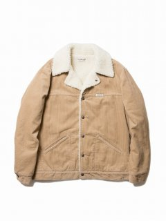 COOTIE Corduroy Ranch Jacket(ベージュ)