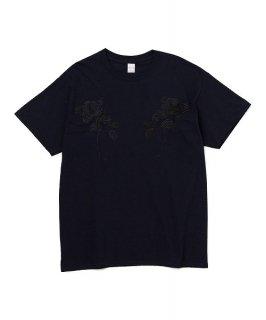 DELUXE × EVISEN TEE(FLOWERS)