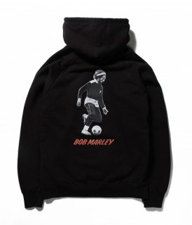 WACKO MARIA BOB MARLEY × WACKO MARIA WASHED HEAVY WEIGHT PULLOVER HOODED SWEAT SHIRT ( TYPE-3 )