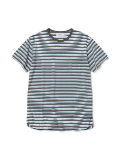 nonnative DWELLER S/S TEE COTTON JERSEY BORDER