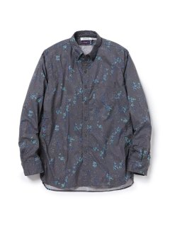 nonnative DWELLER B.D. SHIRT COTTON LAWN LIBERTY🄬 PRINT