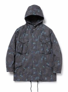 nonnative HUNTER HOODED COAT COTTON TWILL LIBERTY🄬 PRINT
