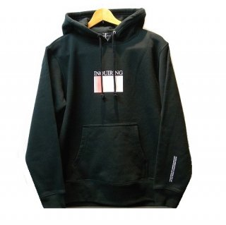 INQUIRING STRIPE WINDOW LOGO SWEAT PARKA