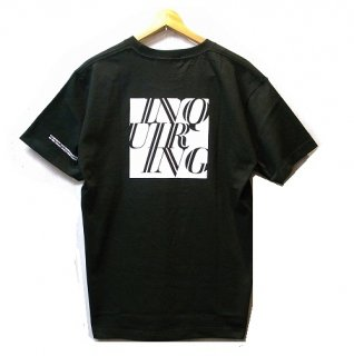 INQUIRING INQUIRNG BOX LOGO T-SHIRT
