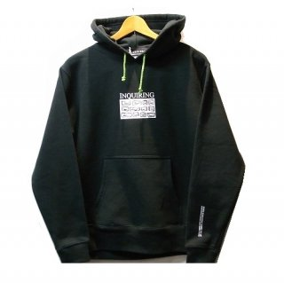 INQUIRING WINDOW LOGO(12FACE) SWEAT PARKA