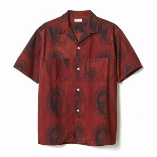 NAISSANCE ORGANIC DYED PAISELY SHIRT