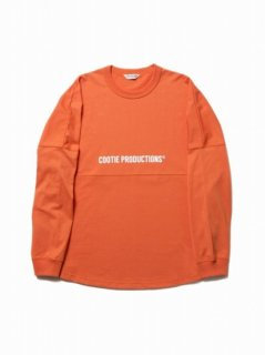 COOTIE Football Oversized L/S Tee