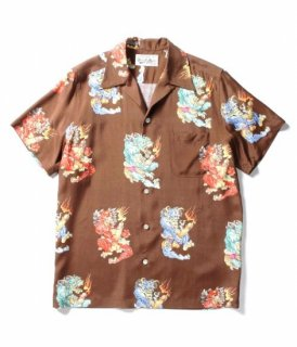 WACKO MARIA TIM LEHI / S/S HAWAIIAN SHIRT ( TYPE-3 )