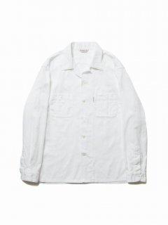 COOTIE Paisley Open-Neck L/S Shirt