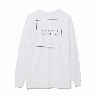 WIND AND SEA LONG SLEEVE CUT-SEWN SANTA CRUZ