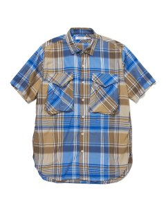 nonnative HUNTER LONG SHIRT S/S R/P MADRAS PLAID