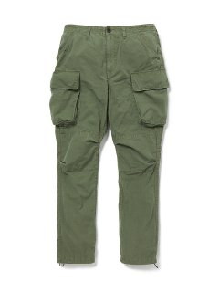 nonnative COMMANDER 6P TROUSERS RELAXED FIT COTTON RIPSTOP