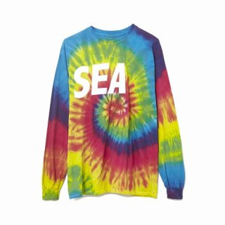 WIND AND SEA LONG SLEEVE CUT-SEWN TIEDYE