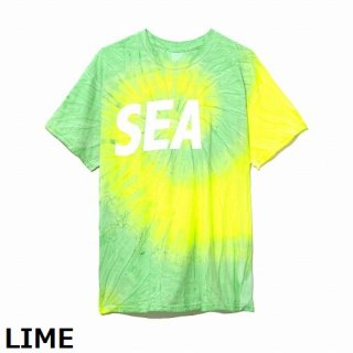 WIND AND SEA T-SHIRT TIEDYE
