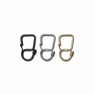 hobo Brass Carabiner Key Ring