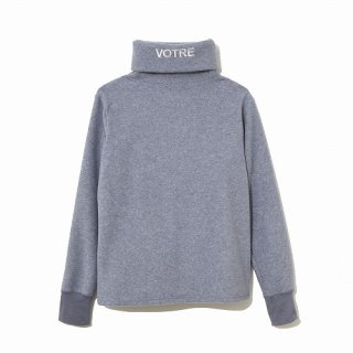 NAISSANCE GRAPHIC TURTLE NECK CUT- SEWN